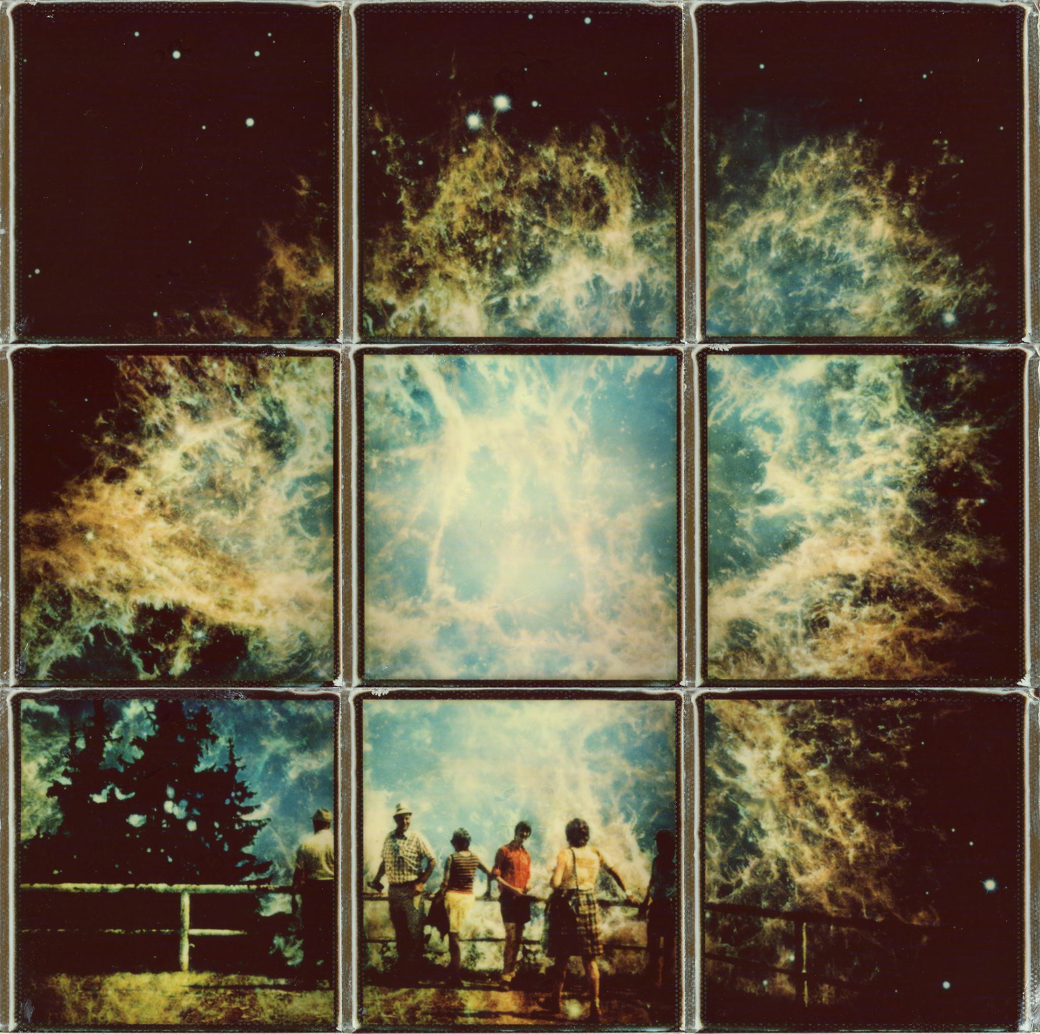 polaroid art exploring the past