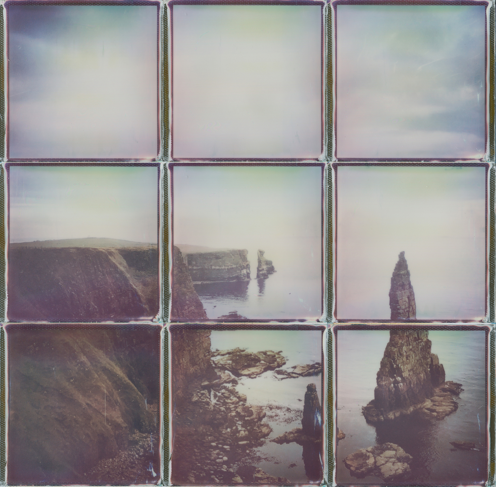polaroid collage